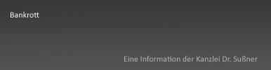 Bankrott Starnberg & München - Insolvenzstraftaten des Strafgesetzbuches unter Paragraph 283 ff. StGB