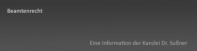 Beamtenrecht Starnberg & München - Ausführliche Informationen für Beamte und Staatsdiener in verschiedenen Bundesländern inkl. den Treuepflichten gegenüber dem Staat und Disziplinarmaßnahmen