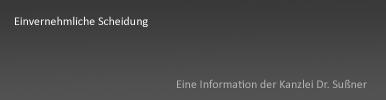 """Einvernehmliche Scheidung in Starnberg & München - Ausführliche Informationen über einen schnellen gerichtlichen """"Vergleich"""" über alle Aspekte der Ehescheidung"""