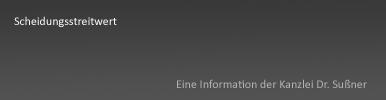 Scheidungsstreitwert Starnberg & München - Streitwert bei Scheidung und Gerichtskosten