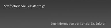 Strafbefreiende Selbstanzeige Starnberg & München - die Selbstanzeige im Steuerrecht inkl. Link zu detaillierten Informationen von einem Rechtsanwalt