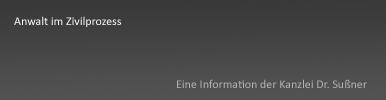 Anwalt im Zivilprozess in München & Starnberg - Ausführliche Informationen über den Rechtsanwalt im Zusammenhang mit dem Führen von zivilen Gerichtsverfahren