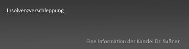 Insolvenzverschleppung München & Starnberg - Ausführliche Informationen zur Insolvenzantragspflicht und Strafbarkeit nach §15a Inso durch Strafverteidiger und Anwalt für Strafrecht