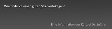Guter Strafverteidiger München & Starnberg